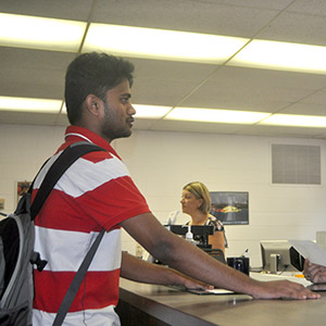 Student in the AE Academic Office